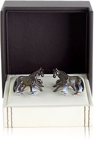 Painted Horse Cufflinks