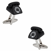 Retro Telephone Cufflinks
