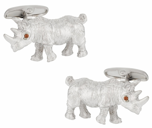 Rhinoceros Cufflinks
