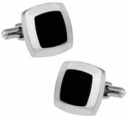 Robust Black Cufflinks