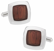 Robust Wood Cufflinks