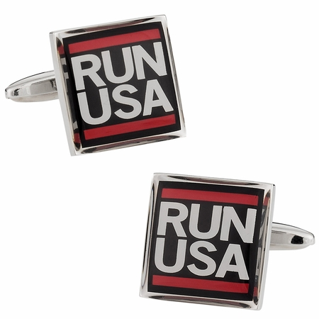 Run USA Cufflinks
