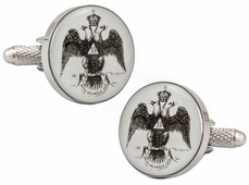 Scottish Rite Freemasonry 33 Degree Cufflinks