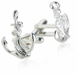 Silver Colored Cufflinks