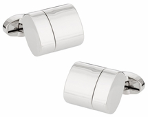 Silver USB Flash Drive Cufflinks 32GB Total