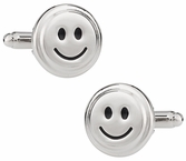 Smiley Face Emoticon Cufflinks