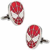 Spider-Man Mask Cufflinks