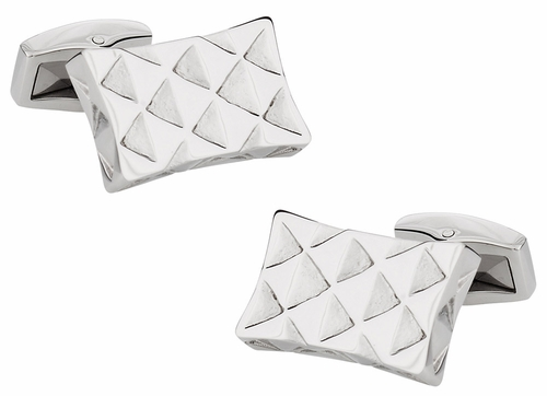 Stainless Steel Designer Cufflinks