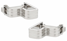 Step Ribbed Cufflinks