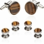 Tigers Eye Formal Set in Silver