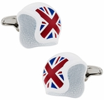 UK Helmet Cufflinks