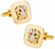 US Navy Cufflinks Gold Officer