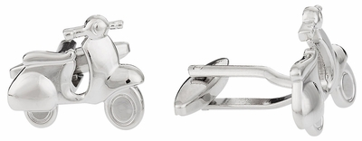 Vespa Scooter Cufflinks