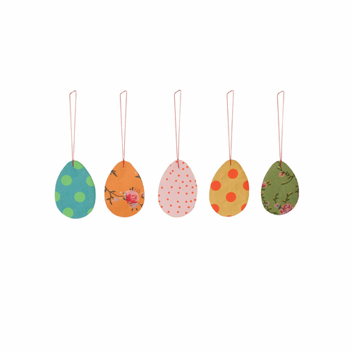 5 Paper Easter Ornaments