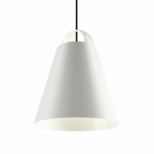 "Louis Poulsen Above Pendant Light, 15.7"" White"