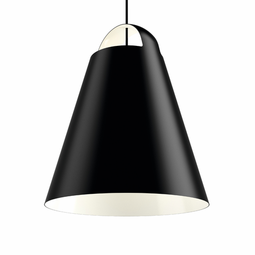 "Louis Poulsen Above Pendant Light, 21.7"" Black"