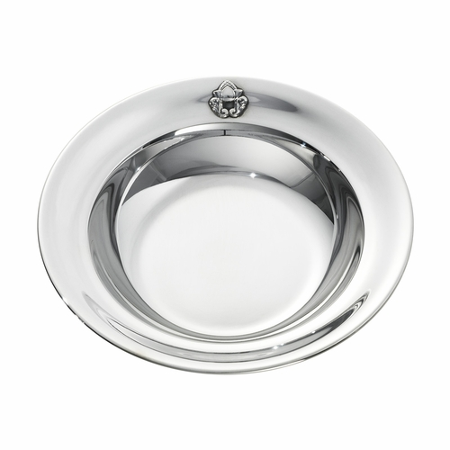Acorn Child's Plate 1364, Sterling Silver