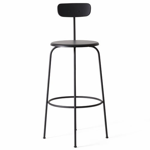 Afteroom Bar Stool, Black
