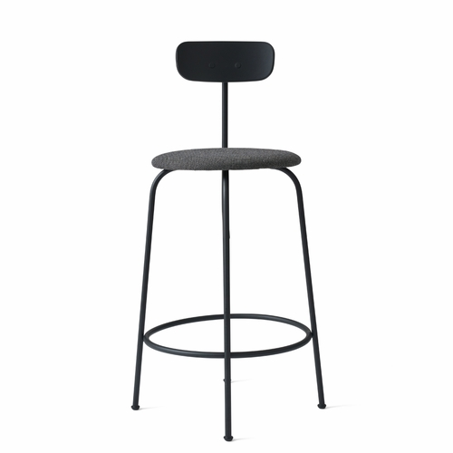 Afteroom Counter Stool, Black/Black