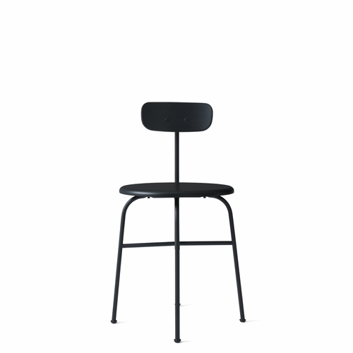 Afteroom Dining Chair, 4-leg, Black