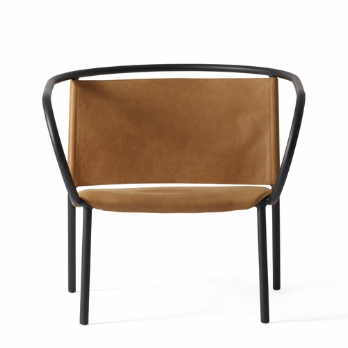 Afteroom Lounge Chair, Cognac Leather