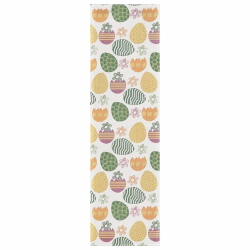 Easter Agg Table Runner, 14 x 47 inches
