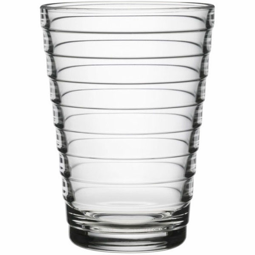 Aino Aalto Tumblers, set of 2 (11 oz ), clear