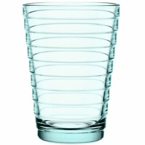 Aino Aalto Tumblers, set of 2 (11 oz ), water green