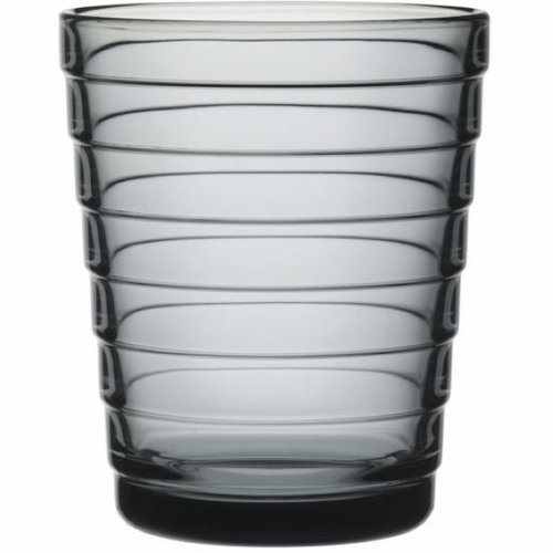 Aino Aalto Tumblers, set of 2 ( 7.75 oz), gray