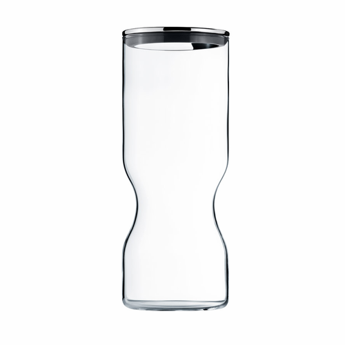 Alfredo Glass Container w/ Stainless Steel Lid (50.75 oz)