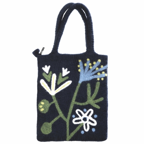 Alma Felted Wool Bag - 1 Left