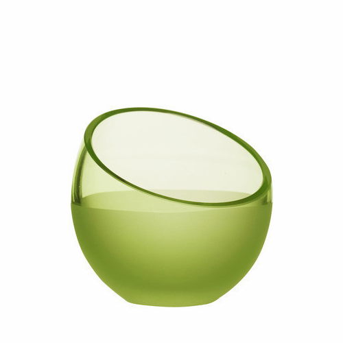 Aqua Tea Light Holder, Light Green