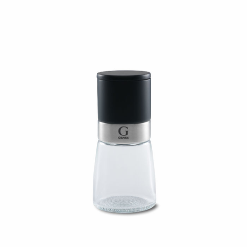 "Aria Mill, Salt & Pepper, Glass/Black (5.5"" - 14 cm)"