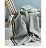 Åkle Wool Throw with Fringe - 5 Colors