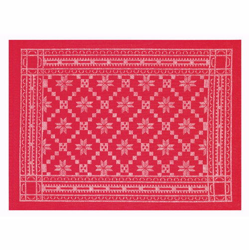 Åttebladrose Red Placemat