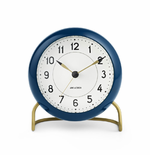 Arne Jacobsen Station Table Clock - 3 Colors
