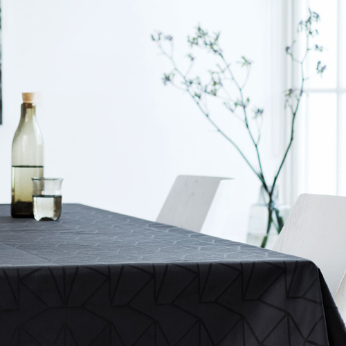 Georg Jensen Damask Arne Jacobsen Tablecloth, Anthracite