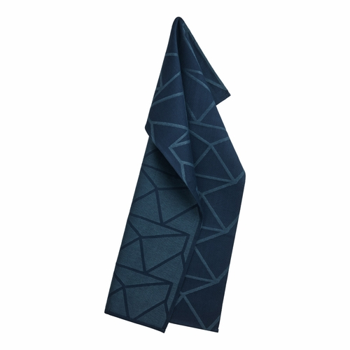 Arne Jacobsen Tea Towel, Navy (1 Left In Store)