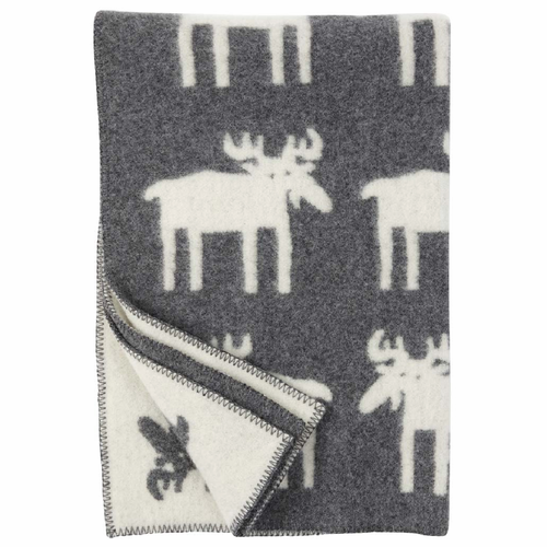 Klippan Alg (Moose) Children's Wool Blanket