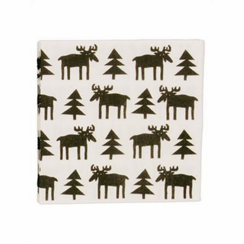 Älg (Moose) Paper Napkins, Pack of 20