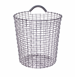 Bin 4.75 Gallons (18 Liters), Stainless Steel
