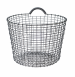 Bin 6.5 Gallons (24 Liters), Galvanized Steel
