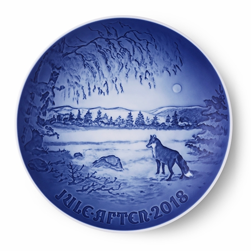 Bing & Grøndahl Christmas Plate - 2018 Only 7 Left