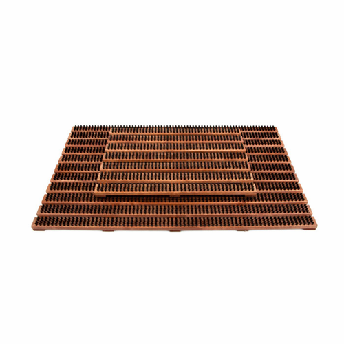 Birch Doormat, Brown, Large