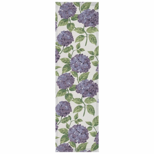 Ekelund Weavers Bla Hortensia Table Runner, 14 x 47 inches
