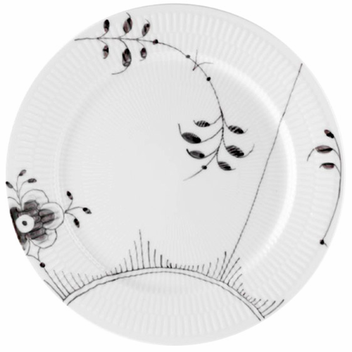 Royal Copenhagen Black Fluted Mega Dinner Plate #2