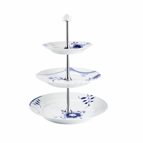 Royal Copenhagen Blue Fluted Mega Etagere