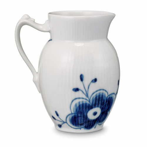 Blue Fluted Mega Jug (Large)
