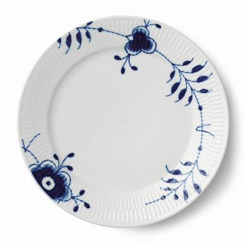 Blue Fluted Mega Special Edition Plate, 10.75""
