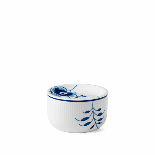 Royal Copenhagen Blue Fluted Mega Storage Jar, Small